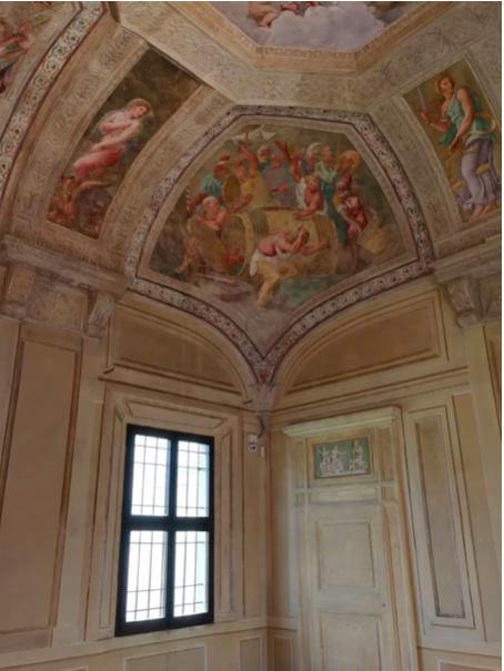 Mantova Giulio romano Ivana Procini Lescargot affreschi
