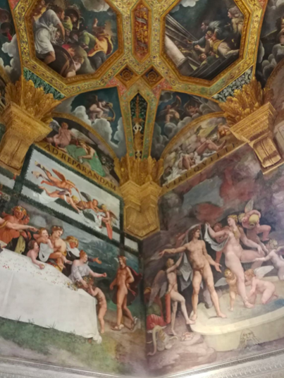 Mantova palazzo Giulio romano Ivana Procini Lescargot