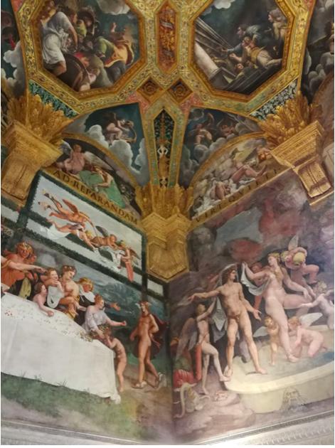camera dei Giganti ivana porcini Mantova lescargot