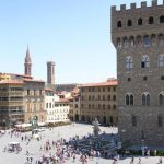 Piazza della Signoria Firenze - L'escargot Slow Art - Ivana Porcini